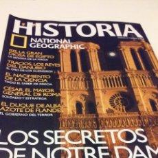 Coleccionismo de National Geographic: LOS SECRETOS DE NOTRE DAME, EL CORAZÓN DEL PAÍS MEDIEVAL. Lote 55685906