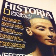 Coleccionismo de National Geographic: NEFERTITI, LA REINA HEREJE, UNA DIOSA EN EL TRONO DE EGIPTO. Lote 55685985