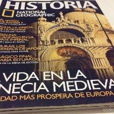 Coleccionismo de National Geographic: LA VIDA EN LA VENECIA MEDIEVAL, LA CIUDAD MÁS PRÓSPERA DE EUROPA. Lote 55686021