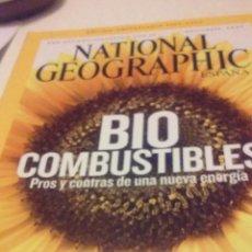 Coleccionismo de National Geographic: BIO COMBUSTIBLES, PROS Y CONTRAS DE UNA NUEVA ENERGIA. Lote 55709149