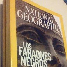Coleccionismo de National Geographic: LOS FARAONES NEGROS, LA DINASTÍA NUBIA QUE CONQUISTÓ EGIPTO - FEBRERO 2008. Lote 55709217