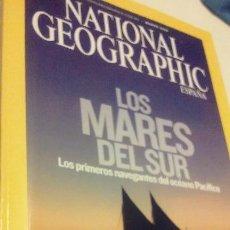 Coleccionismo de National Geographic: LOS MARES DEL SUR, LOS PRIMEROS NAVEGANTES DEL OCÉANO PACÍFICO. Lote 55709258