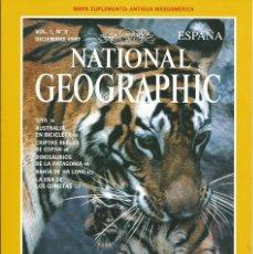 Coleccionismo de National Geographic: REVISTA NATIONAL GEOGRAPHIC. 1997 VOL 1 Nº 3 . ELIGE 3 Y PAGA 2. TIGRES. AUSTRALIA EN BICICLETA. . Lote 56017680