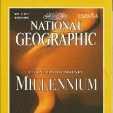 Coleccionismo de National Geographic: REVISTA NATIONAL GEOGRAPHIC. 1997 VOL 2 Nº1 . ELIGE 3 Y PAGA 2. MILLENNIUM. AMELIA EARHART. Lote 56017749