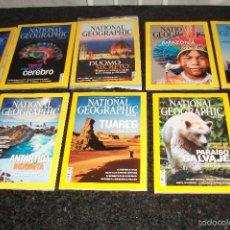 Coleccionismo de National Geographic: LOTE DE 25 REVISTAS NATIONAL GEOGRAPHIC-NUEVAS. Lote 58076380