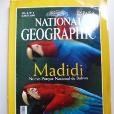 Collectionnisme de National Geographic: NATIONAL GEOGRAPHIC. MARZO 2000. MADIDI. Lote 57035075