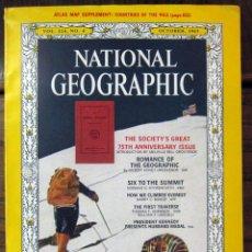 Collectionnisme de National Geographic: NATIONAL GEOGRAPHIC AMERICANO - OCTUBRE 1963 - EDICION USA, EN INGLES. Lote 57692573