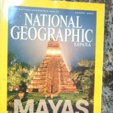 Coleccionismo de National Geographic: REVISTA NATIONAL GEOGRAPHIC ESPAÑA - AGOSTO 2007 - MAYAS --REFM1E4. Lote 58086559