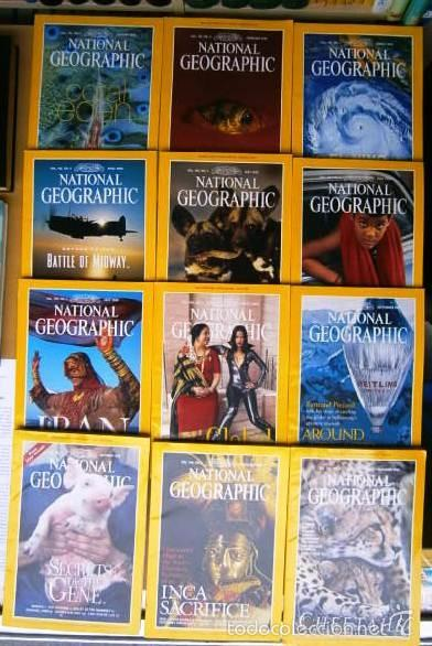 12 REVISTAS NATIONAL GEOGRAPHIC (AÑO 1999 COMPLETO) EDICIÓN ORIGINAL NORTEAMERICANA EN INGLÉS (Coleccionismo - Revistas y Periódicos Modernos (a partir de 1.940) - Revista National Geographic)