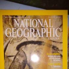 Collezionismo di National Geographic: REVISTA NATIONAL GEOGRAPHIC AGOSTO 2001 CUEVA DE CHAUVET. Lote 59870096