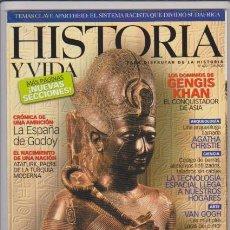 Coleccionismo de National Geographic: HISTORIA Y VIDA - Nº 420 - GENGIS KHAN - RAMSÉS II - VAN GOGH - AGATHA CHRISTIE - ESPAÑA GODOY. Lote 61185031