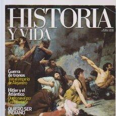 Coleccionismo de National Geographic: HISTORIA Y VIDA - Nº 524 - HITLER Y EL ATLANTICO - GUERRA DE TRONOS - SER INDIANO. Lote 61185427