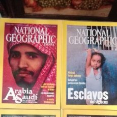Coleccionismo de National Geographic: 4 NATIONAL GEOGRAPHIC. Lote 62127502