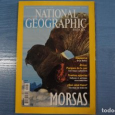 Coleccionismo de National Geographic: LIBRO DE MORSAS SEPTIEMBRE 2001 DE NATIONAL GEOGRAPHIC LOTE 12. Lote 63521400
