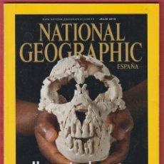 Coleccionismo de National Geographic: REVISTA NATIONAL GEOGRAPHIC ESPAÑA VOL 27 NUM 27 JULIO 2010 UNA MUJER DE 4 MILLIONES DE AÑOS LE1240. Lote 64540939