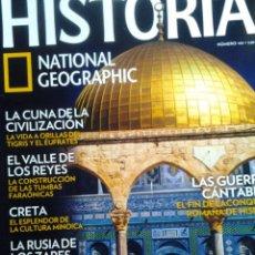 Coleccionismo de National Geographic: TEMPLARIOS EL NACIMIENTO DE LA ORDEN MILITAR EN TIERRA SANTA. Lote 64956463