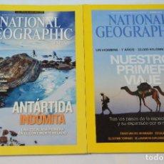 Coleccionismo de National Geographic: PACK 2 REVISTAS NATIONAL GEOGRAPHIC NUEVAS. Lote 114858976