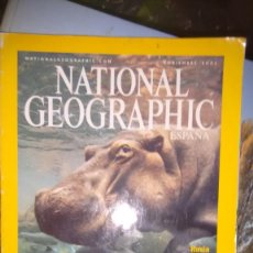 Colecionismo da National Geographic: REVISTA NATIONAL GEOGRAPHIC NOVIEMBRE 2001 HIPOPOTAMOS FUENTE DE VIDA. Lote 70487045
