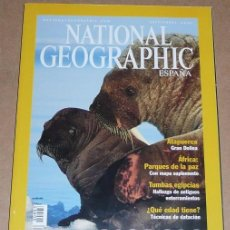 Collectionnisme de National Geographic: REVISTA NATIONAL GEOGRAPHIC SEPTIEMBRE 2001 MORSAS. Lote 71417411