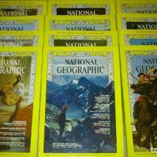 Coleccionismo de National Geographic: NATIONAL GEOGRAPHIC - INGLES - AÑO 1968 COMPLETO - BUEN ESTADO. Lote 72062471