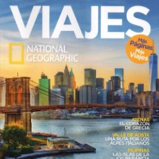 Coleccionismo de National Geographic: VIAJES NATIONAL GEOGRAPHIC N. 202 - EN PORTADA: NUEVA YORK (NUEVA). Lote 78517579
