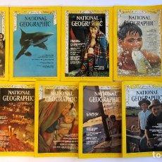 Collectionnisme de National Geographic: NATIONAL GEOGRAPHIC LOTE DE 11 NÚMEROS DE 1968 (ENGLISH) VER FOTOGRAFÍAS Y/O CONSULTAR. Lote 74145007