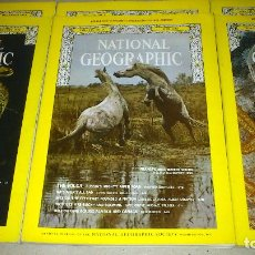 Coleccionismo de National Geographic: NATIONAL GEOGRAPHIC - INGLES - LOTE AÑO 1973 COMPLETO MÁS ENERO DE 1974 - BUEN ESTADO. Lote 74898899