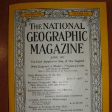 Coleccionismo de National Geographic: THE NATIONAL GEOGRAPHIC MAGAZINE , ED. USA, MARCH 1955 - EN INGLÉS. INCLUYE MAPA SUPLEMENTO.. Lote 75025131