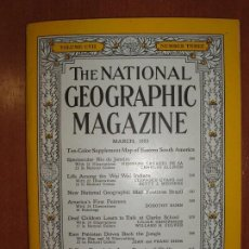 Coleccionismo de National Geographic: THE NATIONAL GEOGRAPHIC MAGAZINE , ED. USA, JUNE 1955 - EN INGLÉS. INCLUYE MAPA SUPLEMENTO.. Lote 75025435