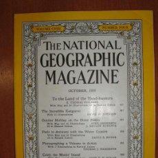 Coleccionismo de National Geographic: REVISTA THE NATIONAL GEOGRAPHIC MAGAZINE , ED. USA, OCTOBER 1955 - EN INGLÉS. . Lote 75026247