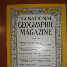 Coleccionismo de National Geographic: REVISTA THE NATIONAL GEOGRAPHIC MAGAZINE , ED. USA, MAY 1955 - EN INGLÉS.. Lote 213260835
