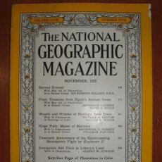Coleccionismo de National Geographic: REVISTA THE NATIONAL GEOGRAPHIC MAGAZINE , ED. USA, NOVEMBER 1955 - EN INGLÉS.. Lote 213260971
