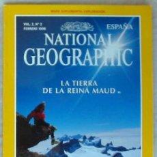 Coleccionismo de National Geographic: NATIONAL GEOGRAPHIC ESPAÑA - VOL. 2 - Nº 2 - FEBRERO 1998 - VER SUMARIO. Lote 76657227