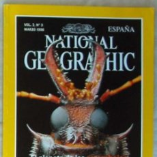 Coleccionismo de National Geographic: NATIONAL GEOGRAPHIC ESPAÑA - VOL. 2 - Nº 3 - MARZO 1998 - VER SUMARIO. Lote 76657303