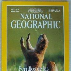 Coleccionismo de National Geographic: NATIONAL GEOGRAPHIC ESPAÑA - VOL. 2 - Nº 4 - ABRIL 1998 - VER SUMARIO. Lote 76657535