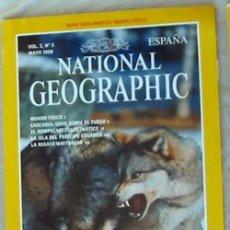 Coleccionismo de National Geographic: NATIONAL GEOGRAPHIC ESPAÑA - VOL. 2 - Nº 5 - MAYO 1998 - VER SUMARIO. Lote 76657691