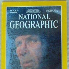 Coleccionismo de National Geographic: NATIONAL GEOGRAPHIC ESPAÑA - VOL. 2 - Nº 6 - JUNIO 1998 - VER SUMARIO. Lote 76657803