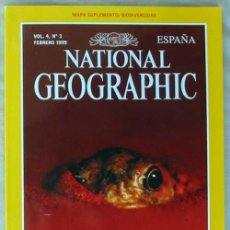Coleccionismo de National Geographic: NATIONAL GEOGRAPHIC ESPAÑA - VOL. 4 - Nº 2 - FEBRERO 1999 - VER SUMARIO. Lote 76659467