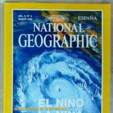Coleccionismo de National Geographic: NATIONAL GEOGRAPHIC ESPAÑA - VOL. 4 - Nº 3 - MARZO 1999 - VER SUMARIO. Lote 76659607