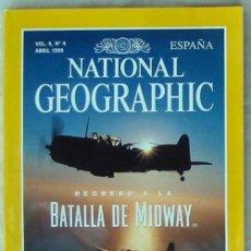Coleccionismo de National Geographic: NATIONAL GEOGRAPHIC ESPAÑA - VOL. 4 - Nº 4 - ABRIL 1999 - VER SUMARIO. Lote 76659759