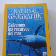 Collectionnisme de National Geographic: NATIONAL GEOGRAPHIC -- ABRIL 2007 -- SALVEMOS LOS RECURSOS DEL MAR -- . Lote 77473445