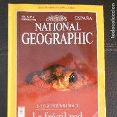 Coleccionismo de National Geographic: HLN- REVISTA NATIONAL GEOGRAPHIC VOL4 Nº2 02/1999- BIODIVERSIDAD- HAGA SUS OFERTAS POR LOTE. Lote 80541922