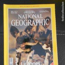 Coleccionismo de National Geographic: HLN- REVISTA NATIONAL GEOGRAPHIC VOL4 Nº5 05/1999- LICAONES- HAGA SUS OFERTAS POR LOTE. Lote 80541946