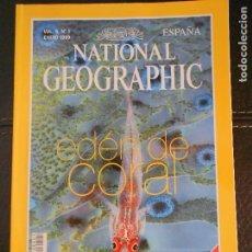 Coleccionismo de National Geographic: HLN- REVISTA NATIONAL GEOGRAPHIC VOL4 Nº1 01/1999- EDÉN DE CORAL- HAGA SUS OFERTAS POR LOTE. Lote 80542334