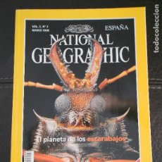 Coleccionismo de National Geographic: HLN- REVISTA NATIONAL GEOGRAPHIC VOL2 Nº3 03/1998- LOS ESCARABAJOS- HAGA SUS OFERTAS POR LOTE. Lote 80542590