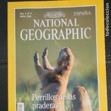 Coleccionismo de National Geographic: HLN- REVISTA NATIONAL GEOGRAPHIC VOL2 Nº4 04/1998- PERRILOS PRADERA- HAGA SUS OFERTAS POR LOTE. Lote 80542626