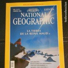 Coleccionismo de National Geographic: HLN- REVISTA NATIONAL GEOGRAPHIC VOL2 Nº2 02/1998- TIERRA REINA MAUD- HAGA SUS OFERTAS POR LOTE. Lote 80542650