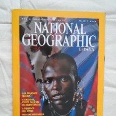 Coleccionismo de National Geographic: REVISTA NATIONAL GEOGRAPHIC ESPAÑA FEBRERO 2006 ALARMA EN EL SERENGETI. Lote 80576434