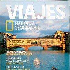 Coleccionismo de National Geographic: VIAJES NATIONAL GEOGRAPHIC, Nº 65. PORTADA FLORENCIA. Lote 83736728