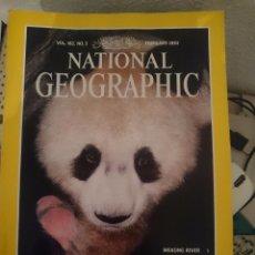 Coleccionismo de National Geographic: NATIONAL GEOGRAPHIC -FEBRERO 1993 -EN INGLES TOTALMENTE ---REFSAMUTEL. Lote 84534904